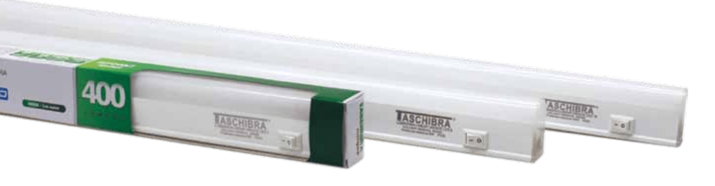 LUMINÁRIA LED LINEAR UNIQUE BIVOLT 6500K   8W TASCHIBRA